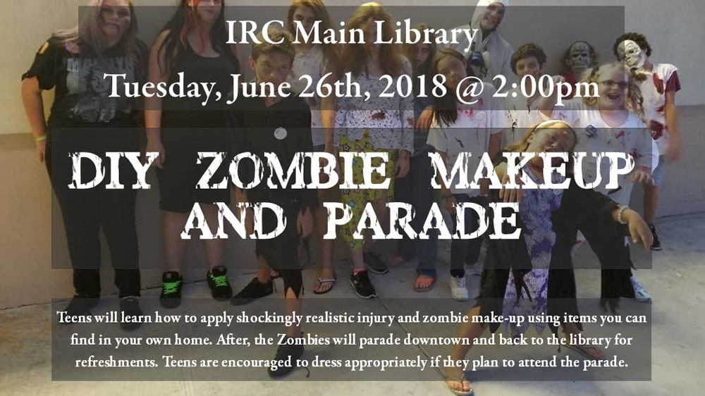 Zombie Makeup and Parade